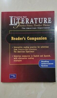 $25 • Buy Prentice Hall Literature The American Experience Reader's Companion NEW Pearson