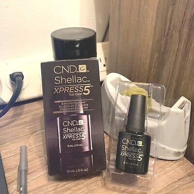 AU23.41 • Buy CND Shellac UV XPRESS5 Top Coat .5oz