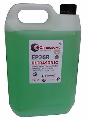 £29.99 • Buy Ultrasonic Cleaning Solution Jewellery And Coins 5 LT Concentrated Formula