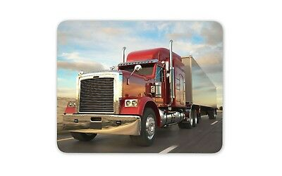 £4.99 • Buy American Truck Mouse Mat Pad - Lorry Driver Dad Son Boys Gift Computer #15288