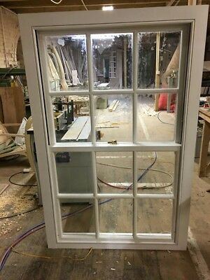 Bespoke Sash Windows, Any Size&Shape, Made From Hard Wood, Single&Double Glazing • 500£