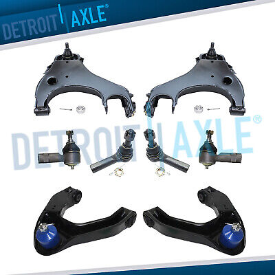 $206.25 • Buy Front Upper Lower Control Arms Tierods For 2000 - 2004 Xterra Frontier 4WD 3.3L
