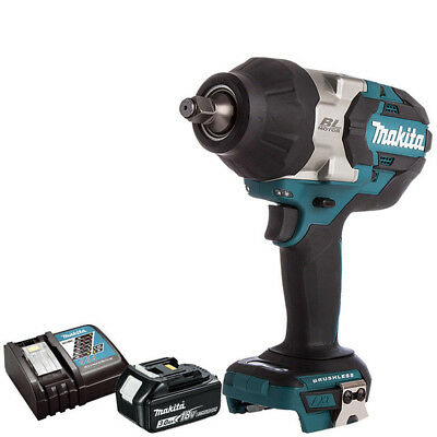 Makita DTW1002Z 18V Brushless Impact Wrench + 1 X 3.0Ah BL1830 Battery & Charger • 284£