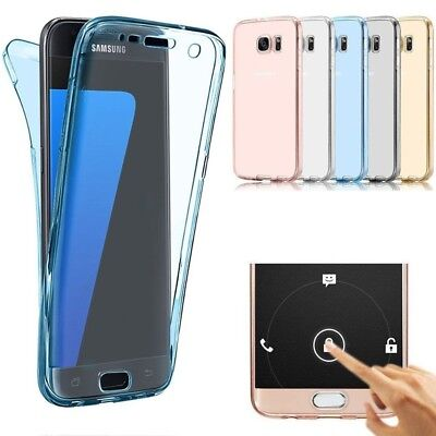 AU5.33 • Buy 360 Full Body TPU Case For Samsung Galaxy A8 2018 S6 S7 Edge S8 S9 Plus Cover