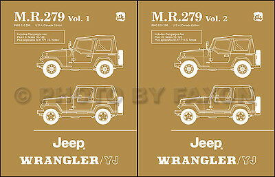 AU181.20 • Buy 1987 1988 Jeep Wrangler And YJ Repair Shop Manual Laredo S Sahara Service Book