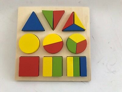 £4.99 • Buy Wooden Shape Puzzle Set - REDUCED PRICE!! WAS £7.99 (29)