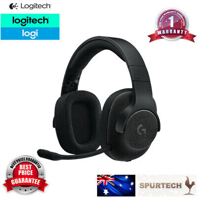 AU75 • Buy Brand New Logitech G433 Wired Gaming Headset With DTS X 7.1 Surround Sound Black