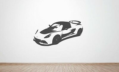 $ CDN24.06 • Buy Lotus Exige S3 Front Side Wall Art Decal Graphic Sticker. (V6, Cup, Cup R, 360)