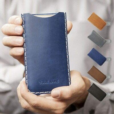 AU62.49 • Buy Leather Case For Sony Xperia, FREE Personalisation, Hand Stitched Pouch Cover