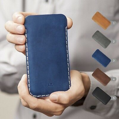 $ CDN65.69 • Buy Sony Xperia Leather Cover Personalized Sleeve Genuine Real Leather Case