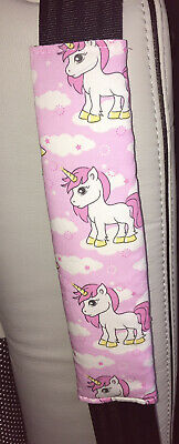 🦄 Unicorns Car Seat Belt Cover, Seat Belt Strap Cover/protection Pad 🦄 • 2.99£