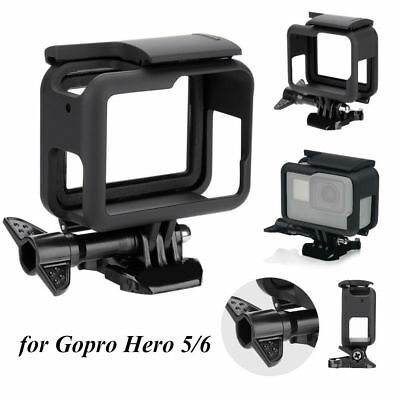 $ CDN11.51 • Buy For GoPro HERO5 6 Black Protective Frame Housing Case Shell Mount Accessories