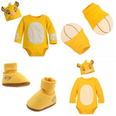 £29.06 • Buy Disney Store Simba Baby Bodysuit Costume Dress Up Shoes Booties Lion King Guard