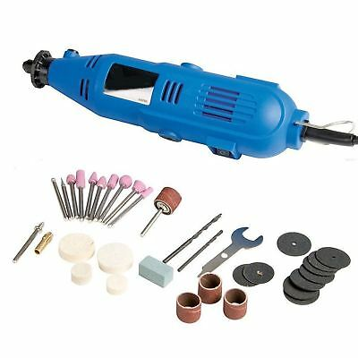 135w Multi Purpose Rotary Multi Tool Precision Drill Dremel Kit +100 Accessories • 18.49£
