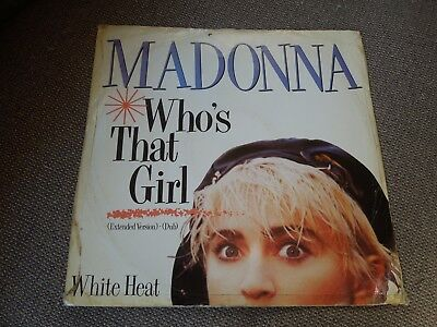 £17 • Buy Madonna Who's That Girl RARE Limited Edition TX Remix 12  Single