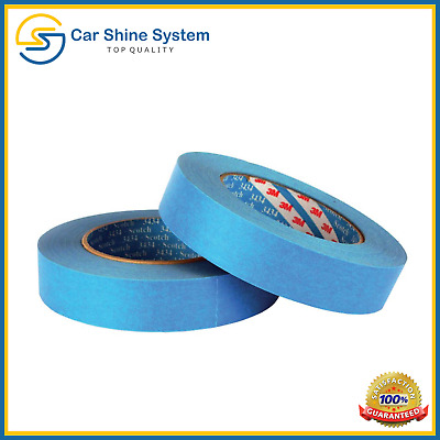 $ CDN6.89 • Buy 3M Protection Tape 18mm X 50m Blue Car Painting Masking Water Solvent Resistant