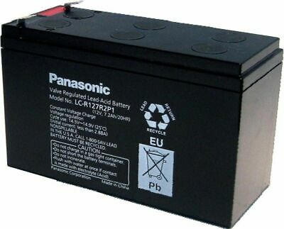 AU55.95 • Buy Panasonic Sealed Lead Acid LC-R127R2P1 12V 7.2Ah Large Terminal NBN Battery