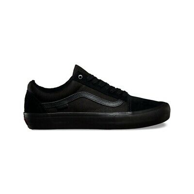 AU115 • Buy Vans Old Skool Pro Blackout Skate Shoes Australian Seller Free Postage
