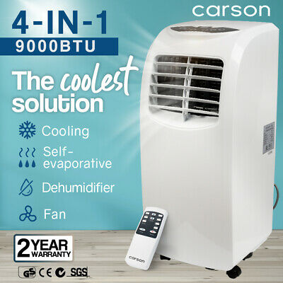 AU379 • Buy 【EXTRA15%OFF】Carson Portable Air Conditioner Mobile Fan Cooler Cooling