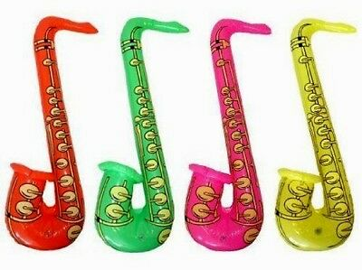 Inflatable Saxophone Rock & Roll Fancy Dress Accessories Music Instruments Toys  • 2.69£