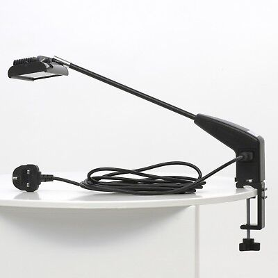 £55.99 • Buy 21W LED Cool White Display Lamp Exhibition Spot Light Trade Show Event + Clamp