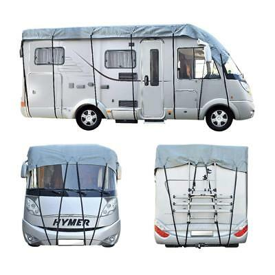 Ultimate Caravan Motorhome Camper Top Cover Weatherproof Winter Rain Store  5.5m • 110£