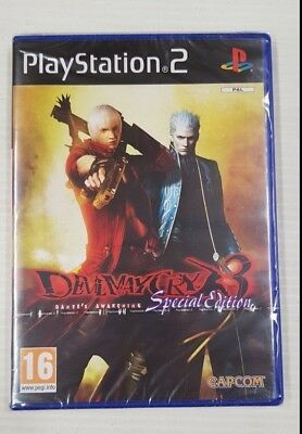 AU109.95 • Buy Devil May Cry 3 Special Edition - PlayStation 2 - PS2 Game - PAL - NEW - SEALED