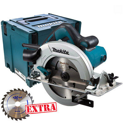 Makita HS7601J 240V 190mm Circular Saw In Makpac Case With 1 X 48T Extra Blade • 123£
