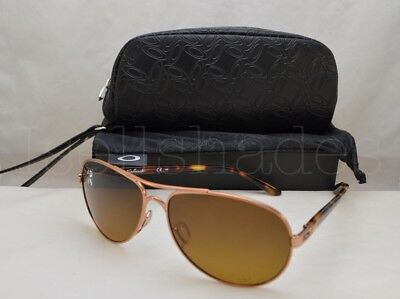c21d9dc75d Oakley FEEDBACK (OO4079-14 59) Rose Gold With Brown Gradient Polarized Lens  •