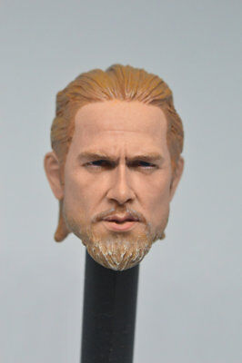 £14.99 • Buy 1/6 Scale Sons Of Anarchy Charlie Hunnam Star Head Carved F 12  Male Figure Body