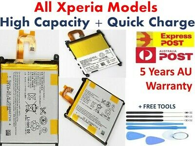 AU16.02 • Buy Sony Replacements Battery For Xperia X Z4 Z5 Z3 Z2 Z1 XA1 Compact Ultra  *2020*