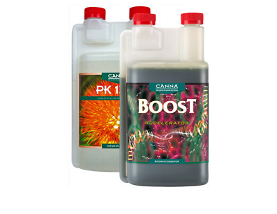 Canna Boost Accelerator & PK 13-14 250ml 1L Hydroponic Growing Additives • 29.99£