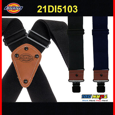 $23.20 • Buy Dickies Men's Worker Suspender Heavy Duty Nylon X-Shaped Industrial Thick 5103