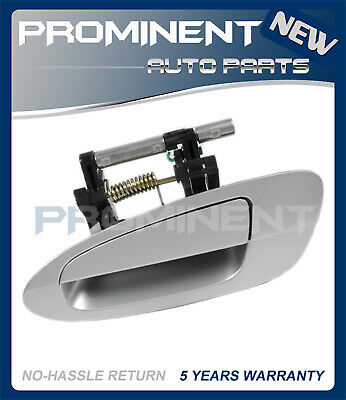 $28.77 • Buy Door Outside Handle  Silver Rear Left Replacement For 02-06 Nissan Altima