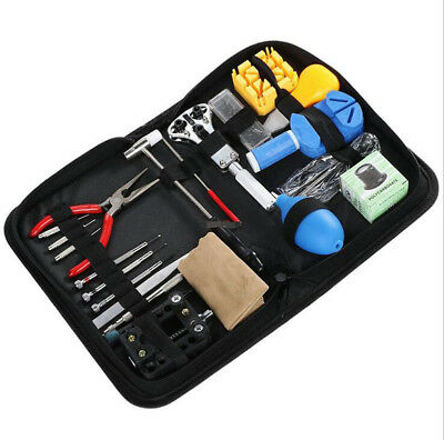 $ CDN27.55 • Buy Watch Repair Tool Kit 22 Pieces Strap Remover  Replacement Opener Hammer