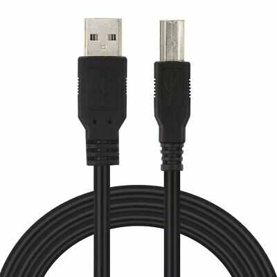 $5.89 • Buy USB CABLE Cord For M-AUDIO KEYBOARD CONTROLLER KEYSTATION MINI 32 88 POWER LEAD