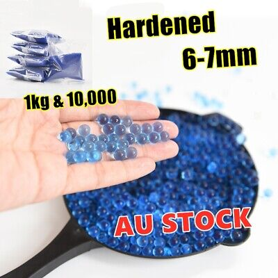 AU8.87 • Buy Blaster Gun 1KG 10000 Pc Hardened Bullet Water Gel Balls Bear 6-7mm Ammo Toy AU