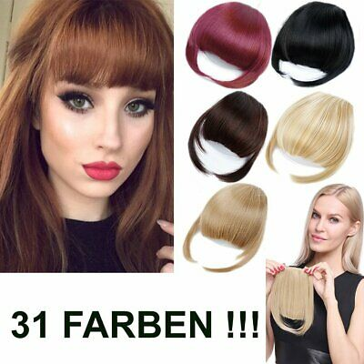 $17.53 • Buy Fringe Hair Piece Clip IN Hair Extensions Hair Thickener Many Colours