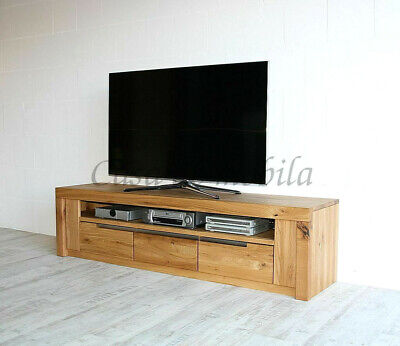 Tv Board Eiche Massiv