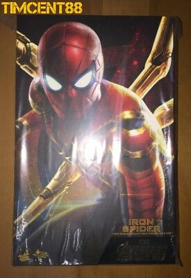 AU515.83 • Buy Ready Hot Toys MMS482 Avengers Infinity War Iron Spider Peter Parker Tom Holland
