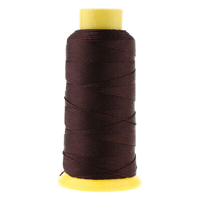 £4.84 • Buy 200M Bonded Nylon Upholstery Sewing Thread For Leather Canvas Beading Coffee