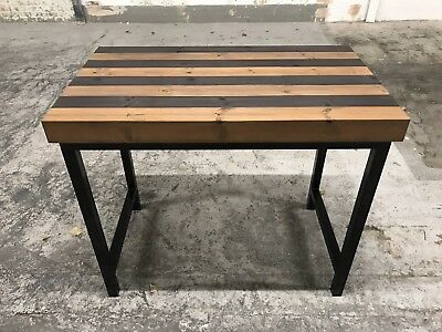 Industrial Breakfast Bar/Kitchen Island/Reclaimed/Rustic/Home/Bespoke/Quality • 650£