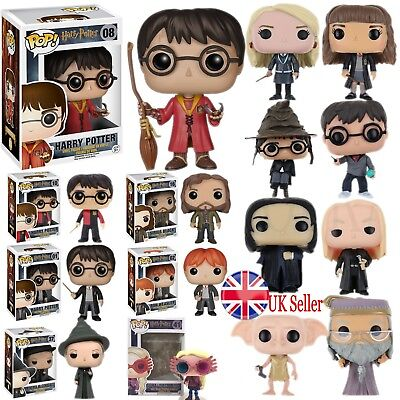 Funko POP Harry Potter Vinyl Action Figure Toys Collection Kids Xmas Gift In Box • 9.88£
