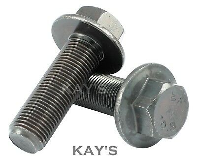 £2.70 • Buy M8 M10 M12 M14 M16 Fine Pitch Thread Flanged Hex Bolts High Tensile Grade 10.9