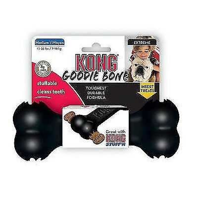 AU19.15 • Buy KONG Extreme Goodie Bone - Durable Chew Rubber Fetch Treat Dispensing Toy