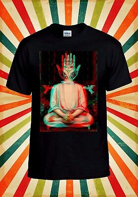 Traditiona​l Buddha Trippy Yoga Hand Men Women Vest Tank Top Unisex T Shirt 1610 • 8.95£