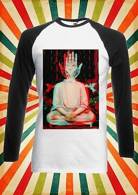 Traditiona​l Buddha Yoga Cool Men Women Long Short Sleeve Baseball T Shirt 1610 • 9.95£