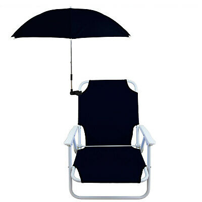 AU55 • Buy Beach Chair With Umbrella Kit Foldable Camping Folding Outdoor Camp Pool Stool