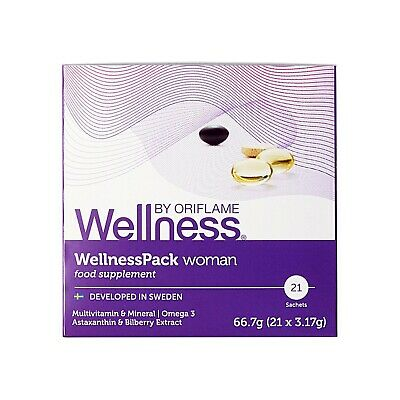 AU36.14 • Buy Oriflame Wellness Pack Woman Food Supplements Omega 3 Astaxanthin Clinical Tests