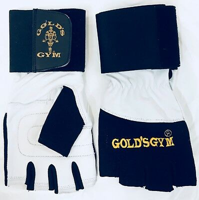 Gold's Gym Wrist Wrap Gloves( Winter Special ) • 6.99£
